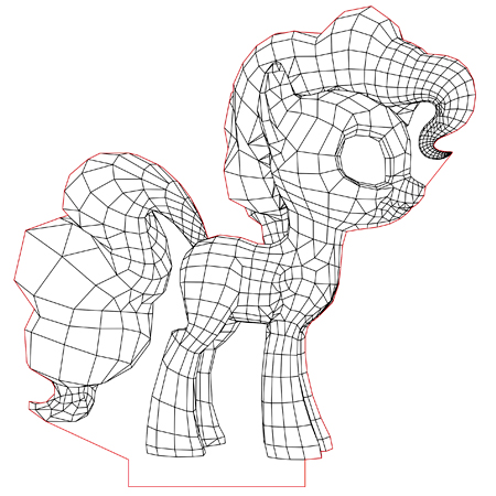 My Little Pony 3d Illusion Lamp Vector File